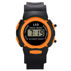 Watch Children Silicone Electronic Kids Casual And MV66 Comfortable New-Fashion