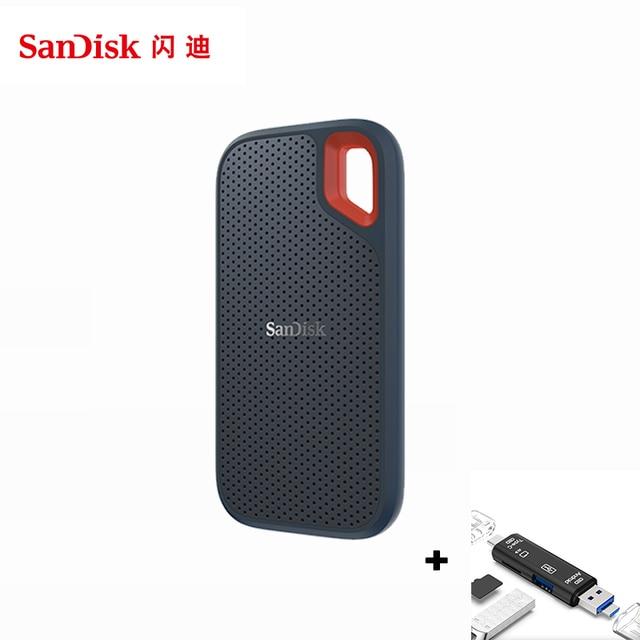 SanDisk taşınabilir harici SSD 1TB 500GB 550M harici sabit disk SSD USB 3.1 HD SSD sabit disk 250GB katı hal diski için dizüstü bilgisayar