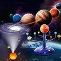 Солнечный Системы Планетарная модель 8 набор планет дети наука паровой проектор головоломки игрушки вращающийся Astrometer для новорожденных о...