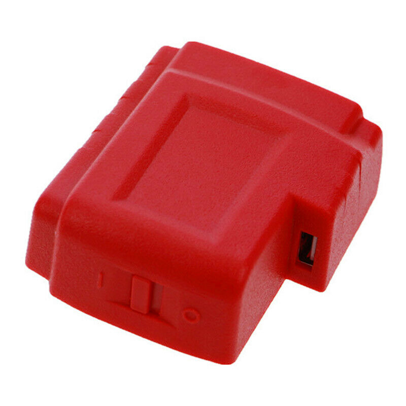 USB Ports Battery Charger Adapter Converter Portable Accessories For Milwaukee M18 UND Sale