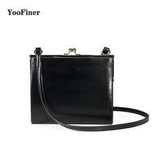 YooFiner Women Bag Shoulder bag For women 2019 High Quality Fashion Leather Bags New solid handbag Ladies Casual Crossbody