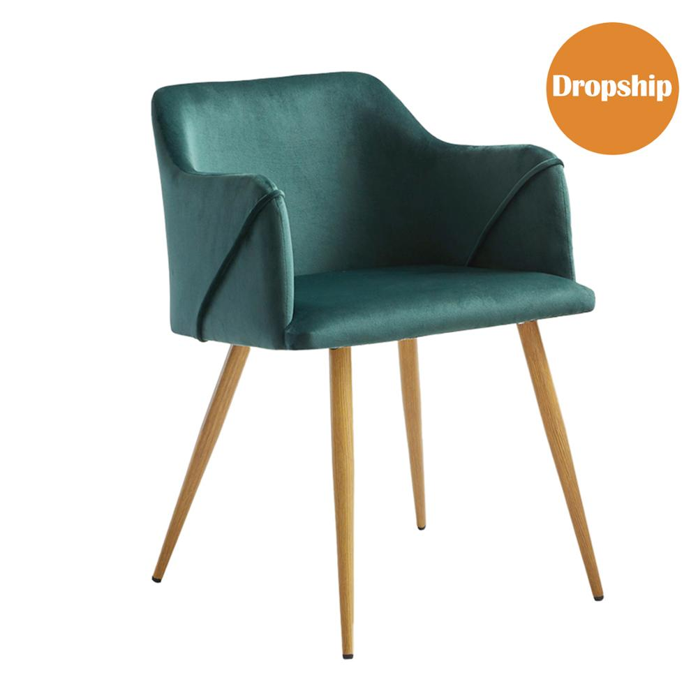 EGGREE ALDRIDGE Padded Dining Chair For Dining Room, Living Room And Bedroom - Green