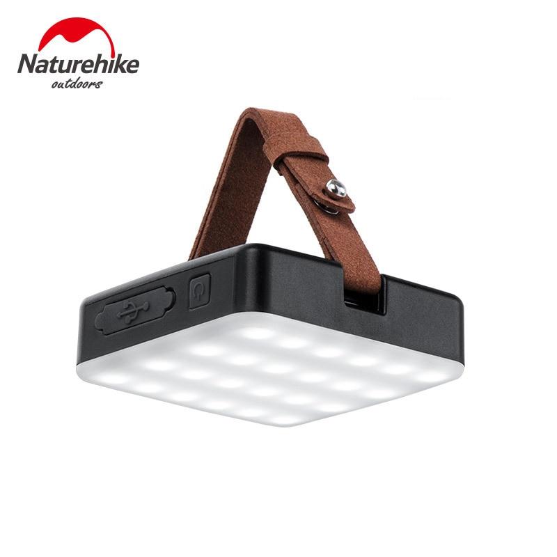 Naturehike LED Outdoor Portable Light Hiking Camping Tent Lamp USB 1300 Lumen Flashlights 9000MAH Power Bank Outdoor Gadget - 6