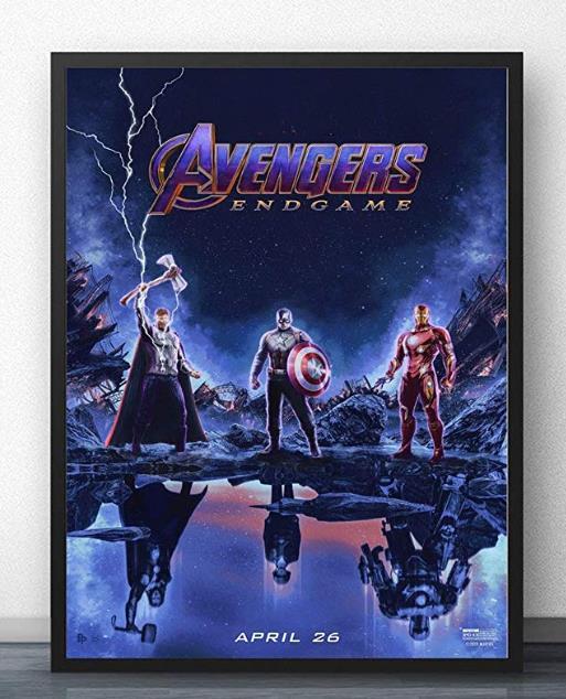 Современная Настенная живопись Мстители персонаж эндшпиль Железный человек Тор Капитан Америка постеры картина холст домашний декор - Цвет: Многоцветный