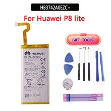 100% Original Battery HB3742A0EZC For Huawei P8 Lite Ascend P8 Lite Real Capacity 2200mAh Batteria with Free Tools стоимость