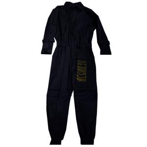 Image 5 - Aelfric Eden 2020 Hip Hop Streetwear Jumpsuits Men Ribbon Embroidered Cargo Pants Long Sleeve Rompers Joggers Techwear Men