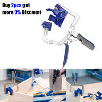 90 Degree Right Angle Woodworking Clamp Picture Frame Corner Clip Quick Fixed Corner Holder Woodworking Tools Hand Tool