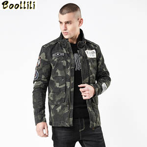 Embroidery Jacket Military-Epaulette Army Tactical Camouflage Fashion Casual M-4XL Plus-Size