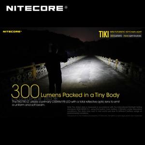Image 4 - Mini Futuristische Nitecore Tiki/Tiki Le Usb Oplaadbare Sleutelhanger Licht Ingebouwde Li Ion Batterij