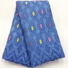 Новое поступление 2020, хлопковое кружевное платье с блестками, Вышитое швейцарское кружево для женщин, швейцарская вуаль, высокое качество