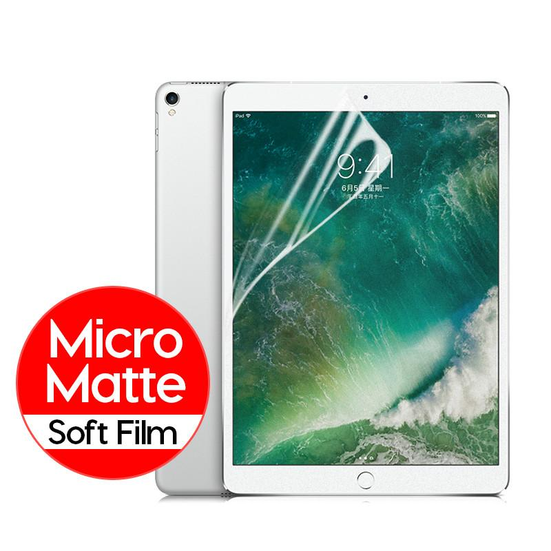 Screen Protector For Apple IPad 2 3 4 9.7 Inch Air 2 1 Tablet PET Film For IPad Mini 5 4 3 2 1 Anti Glare Film Not Glass