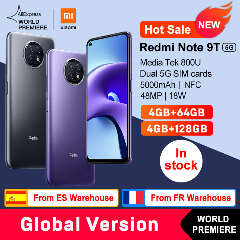Redmi Note 9T - 4GB/64GB