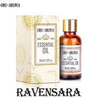 유명 브랜드 oroaroma Ravensara 오일 바디 스킨 케어 스파 메시지 향수 램프 아로마 테라피 Ravensara 에센셜 오일