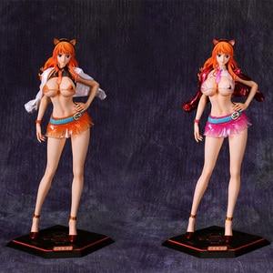 Anime One Piece Boa Hancock Nico Robin Nami Reiju Vivi GK PVC Action Figure Anime Sexy Girl Figure Model Toys Doll Gift(China)