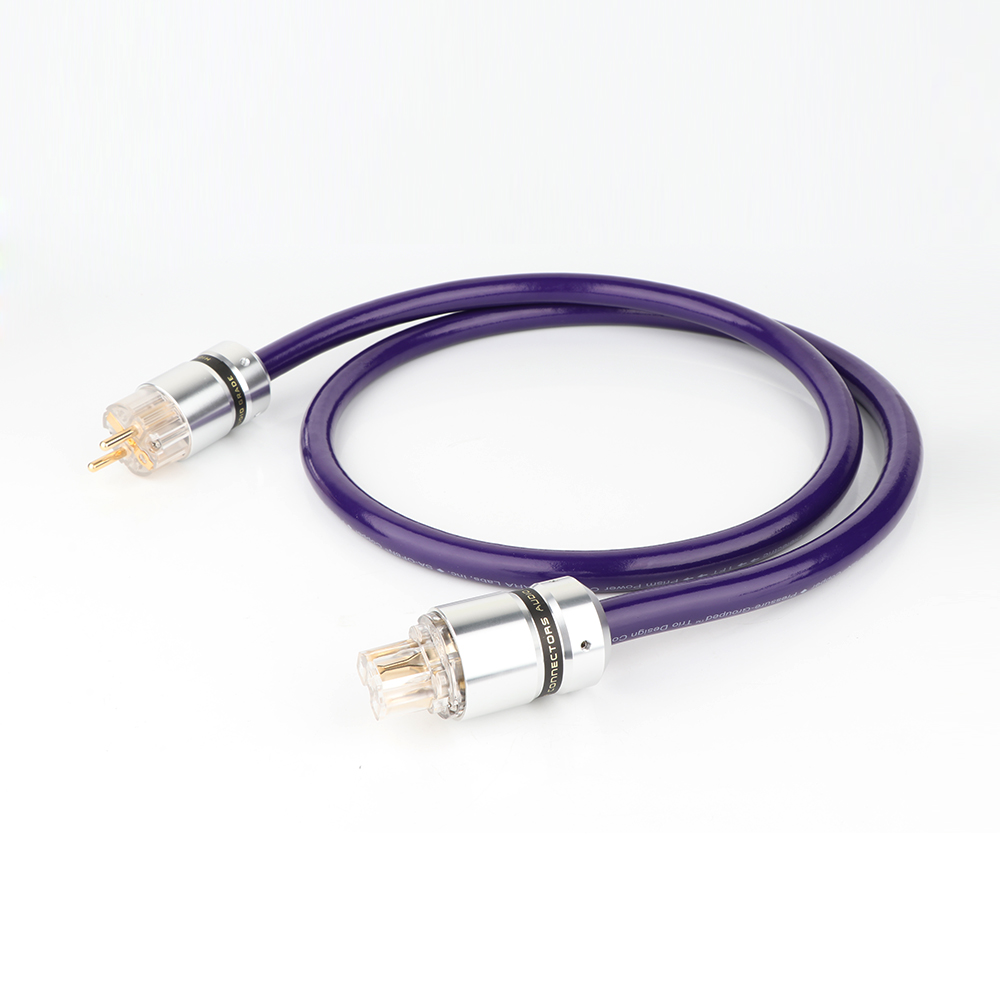 D5168 6N OCC câble d'alimentation ca cuivre pur connecteur d'alimentation standard européen ue Schuko cordon d'alimentation HIFI