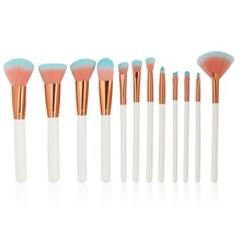 12 Pcs/lot Professional Make Up Brushes Set Foundation Face&Eye Powder Blusher Makeup Brush Maquiagem недорого