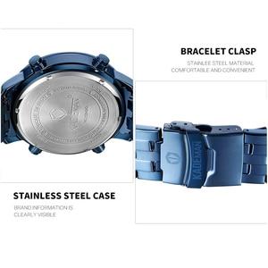 Image 4 - KADEMAN Men Watch Sport Male LED Digital Watches 3TAM Full Steel Fashion Full Steel Wristwatches TOP Brand Relogio Masculino 849