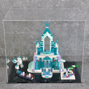Bricks Toys Ice-Castle-Set 41148 Building-Blocks Snow Magical Girl Friend with 731pcs