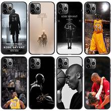 kobe bryant legend foever commemorate Phone Case Cover For iPhone 11 Pro XS X Max Xr 8 7 6 s Plus black TPU Back Soft Fundas(China)