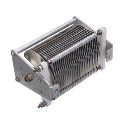 1pc Durable Einstellbare Kondensator 20-1000PF 1000V Einzel-einheit Luft Dielektrikum Variable Kondensator mit Knopf Elektrische Ausrüstungen