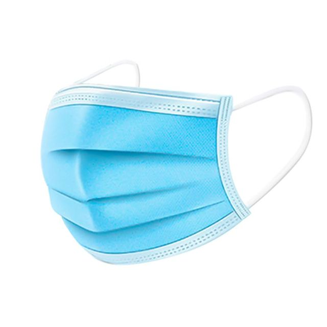 20/40/60pcs 3-layer Anti-fog Masks Disposable Dust Masks Anti-flu Formaldehyde Protective Masks Thickened  Masks Non-woven c 2