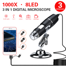 1000X ABS Real-Time Video Monitoring Endoscope Digital Microscope Practical Waterproof Ear Cleaning Tool Hand Held