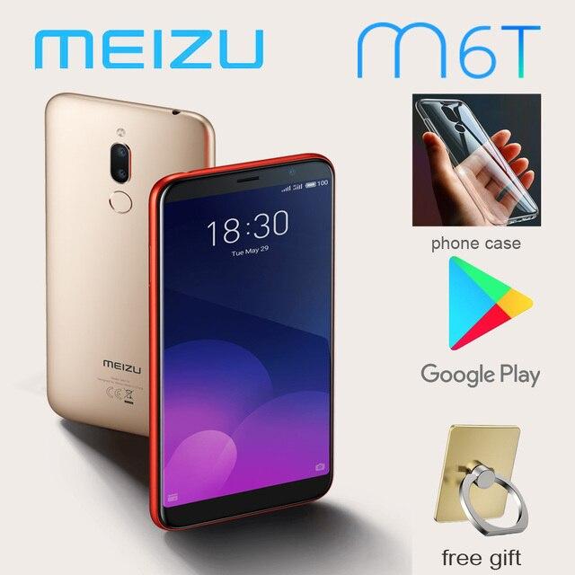 Global version 98%New Meizu M6T Smartphone 3G 32G 5.7'' full screen Rear dual camera MT6750 Super mBack ingerprint payment 1