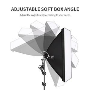 Image 3 - Professional Photography Softbox with E27 Socket Light Lighting Kit for Photo Studio Portraits, Photography and Video Shooting