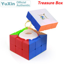 YuXin ZhiSheng 3x3x3 Treasure Box Magic Cube Puzzle Educational Toys For Children Collect and Store Coins Birthday Present Gift yuxin zhisheng 3x3x3 treasure box magic cube speed puzzle game cubes educational toys for children kids christmas gift