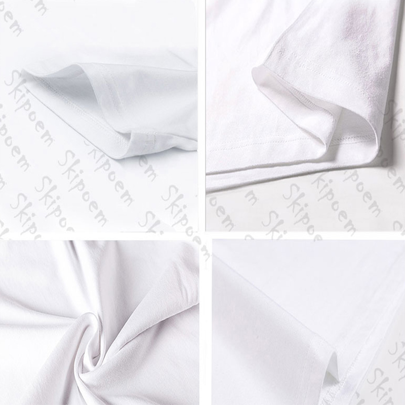 New Cotton Harajuku Aesthetics Tshirt Sexy Flowers Feather Print Short Sleeve Tops & Tees Fashion Casual Couple T Shirt 4