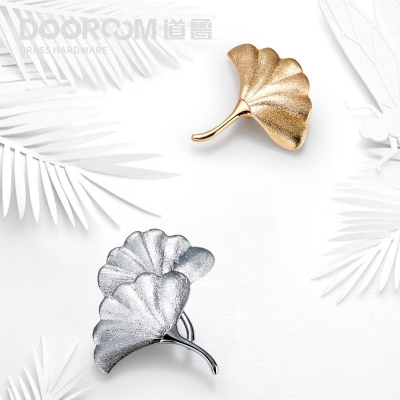 Латунные ручки Dooroom, золотые и серебряные ручки для мебели, натуральсветильник свет, роскошный шкаф, комод, шкаф, ящик, ручки