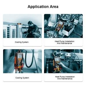 Image 5 - Цифровой мастерcool Testo коллектор 549, цифровой манометр системы ОВКВ, набор инструментов для охлаждения и кондиционирования воздуха R410a R410