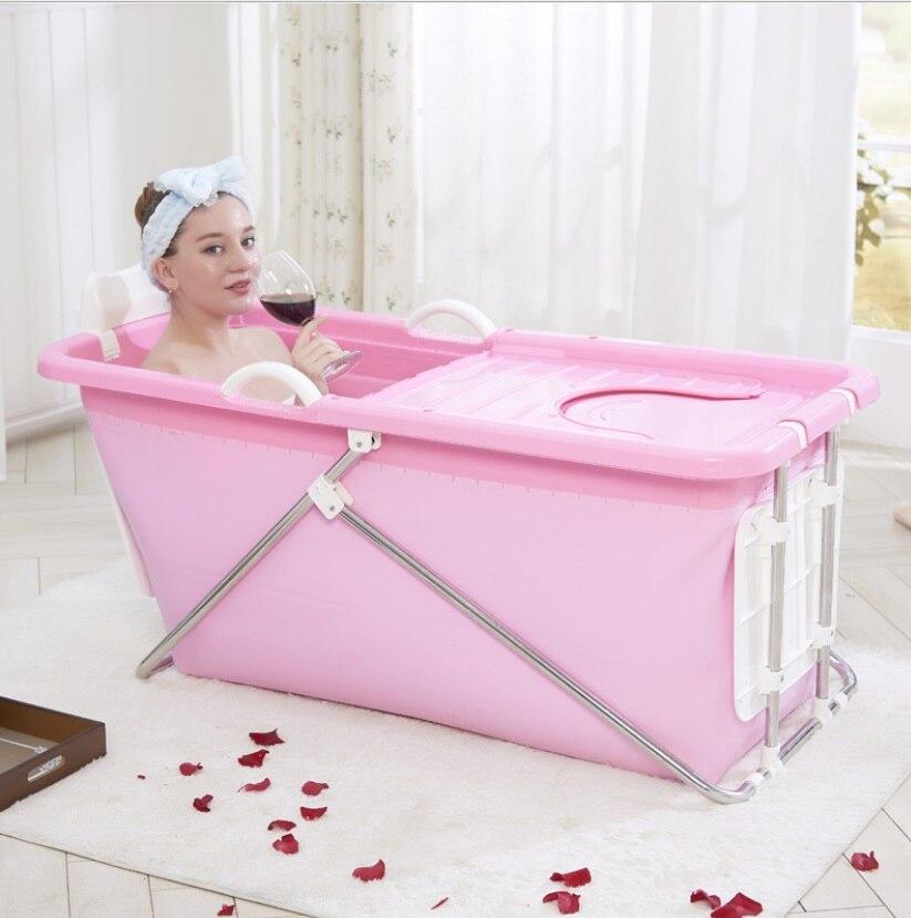 Grande sconto 35% vasca da bagno Per Adulti Pieghevole ...