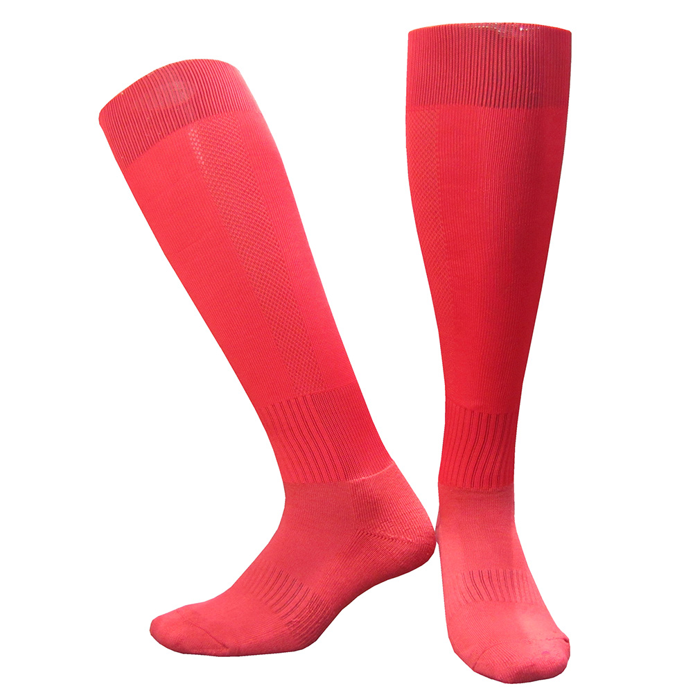 CTM005红色毛巾底足球袜 副本
