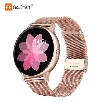 FocusSmart Smart Watch  DT88Pro Fitness Tracker Women Wearable Devices IP68 Smartwatch Heart Rate Wristwatch Smart Watch цена 2017