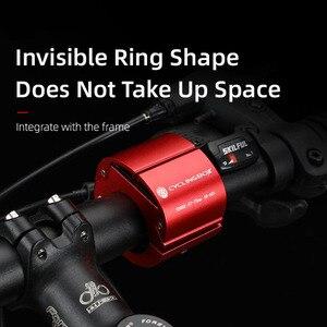 Image 5 - טבעתי Invisible אופניים טלפון מחזיק אלומיניום סגסוגת אופניים נייד טלפון מדפי נייד רכיבה על אופניים טלפון הר אופני אביזרים