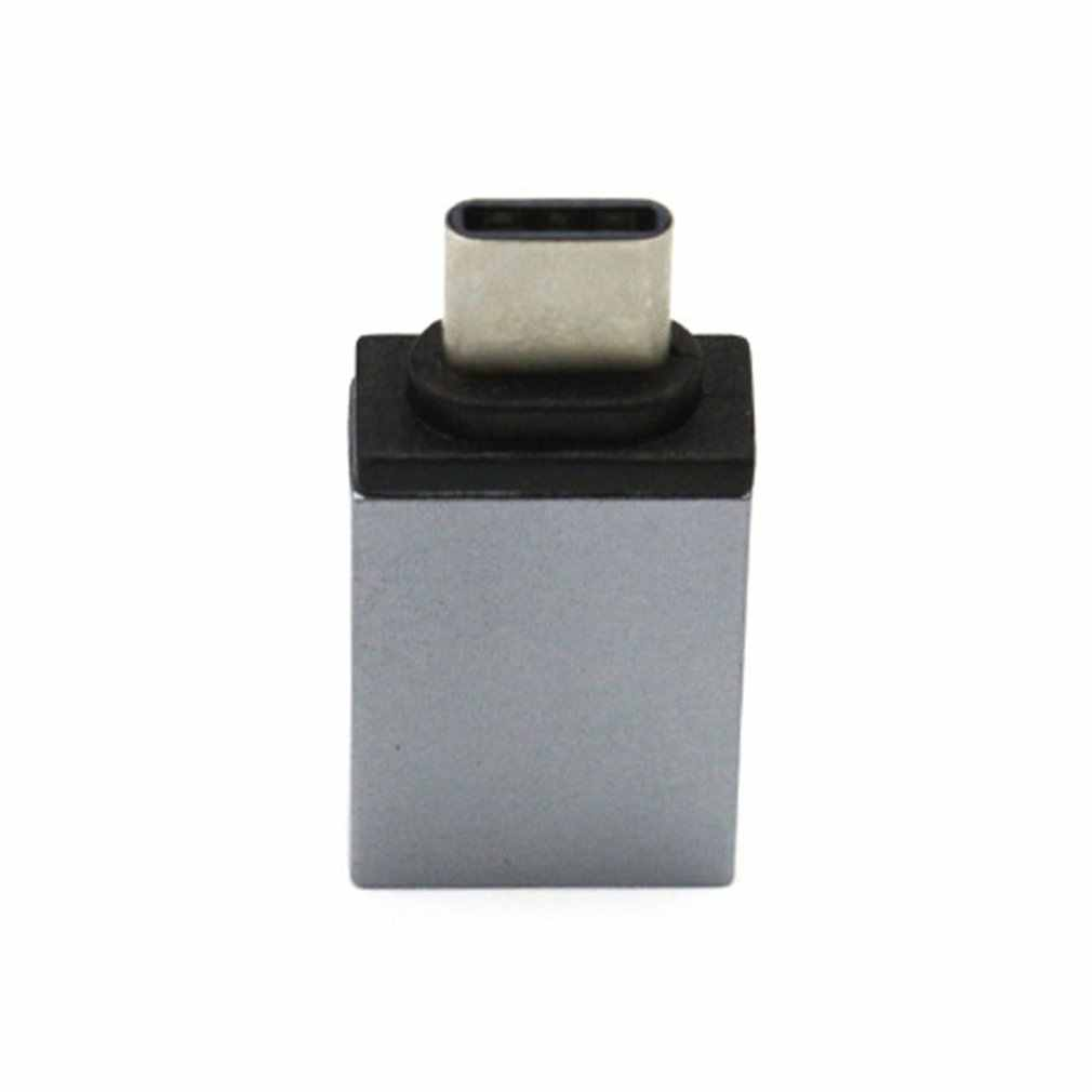 USB 3.0 Aluminum Alloy Type-C OTG Adapter USB 3.0 Male to USB Female Converter Type C Adapter For Xiaomi