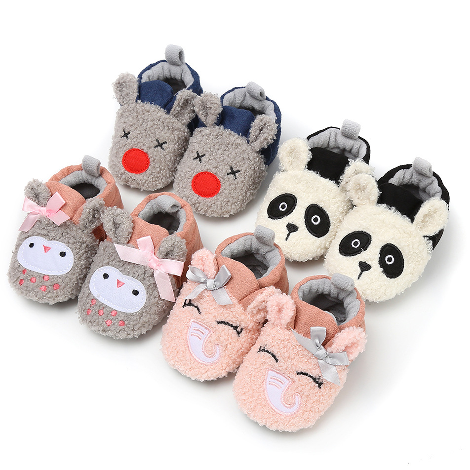 CieKen Toddler Newborn Baby Girls Girl Crib Shoes Winter Boots Prewalker Warm