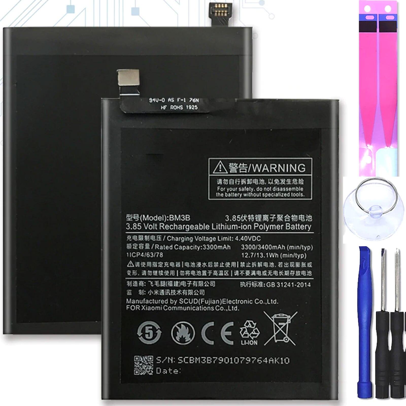 Внутренняя батарея для Xiaomi Mi Mix 2 MiMix 2, MPN Оригинал BM3B