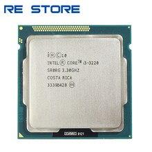 使用インテルコアi3 3220 3.3ghz 3mキャッシュデュアルコアcpuプロセッサSR0RG lga 1155