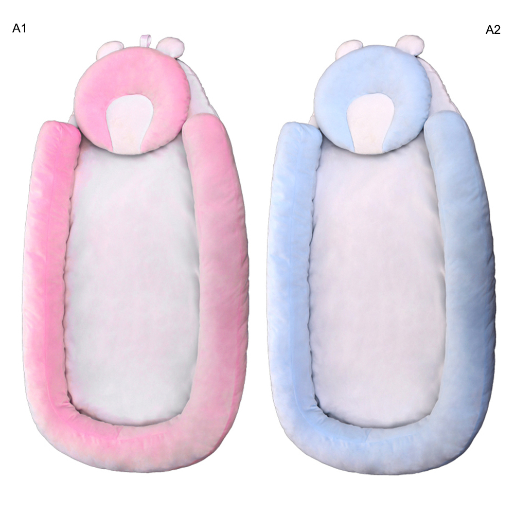 87*45cm Portable Baby Cribs Newborn Travel Sleep Bag Infant Travel Safe Bed 2019 New Soft Breathable Dismountable Baby Bed Oc8