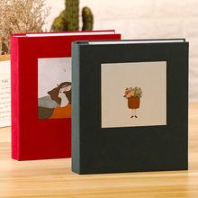 Фотоальбом с 200 карманами, 6 дюймов, чехол для скрапбукинга, фотоальбом, рамка, семейный подарок, фотоальбом