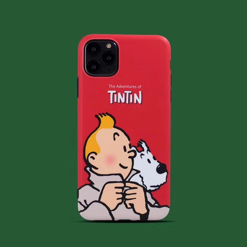 coque iphone 8 tintin