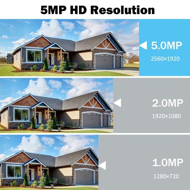 5MP caméra surveillance PTZ Wifi IP caméra extérieure 4X numérique Zoom AI humain détecter H.265 P2P ONVIF Audio sécurité CCTV sans fil camera video surveillance 5