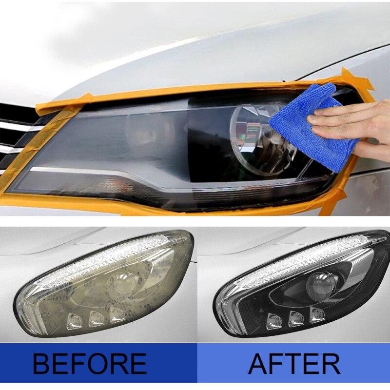 Car Headlight Restoration Repair Coating Solution Repair Headlight Polishing Anti-scratch Liquid Hea