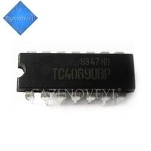 10 قطعة/الوحدة TC4069UBP 4069 DIP 14 جديد الأصلي في المخزون
