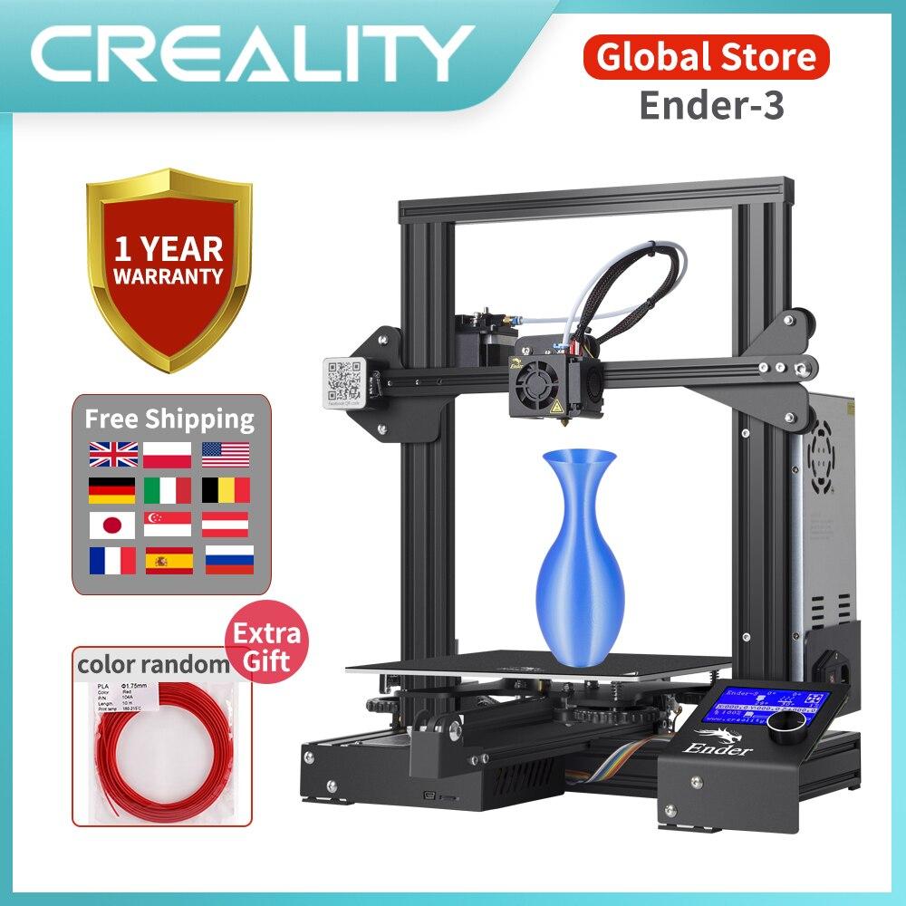 Полностью металлический CREALITY 3D Ender 3/Ender 3X/Ender 3 профессиональный принтер с волшебной конструкцией пластины обновления видения v слот 3d принтер|3D принтеры|   | АлиЭкспресс