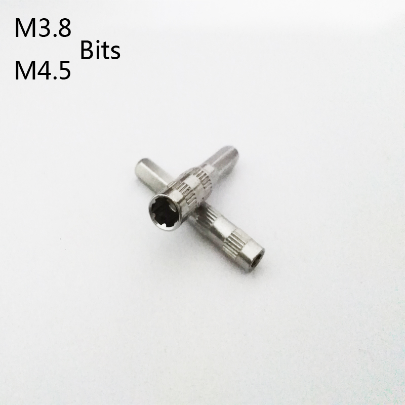 3,8 mm 4,5 mm Schraubendreher-Bit-Sicherheitstool für NES SNES N64 Gam SHN G4