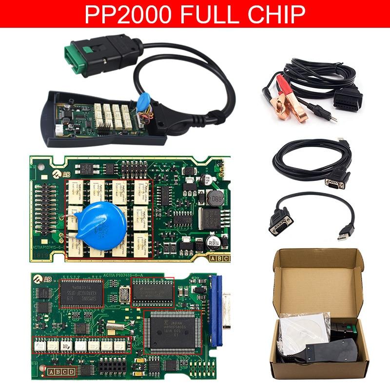 Lexia3 диагностический сканер v7.83 PP2000 полный чип для Citroen для peugeot Lexia3 Diagbox V7.65 LEXIA3 чип