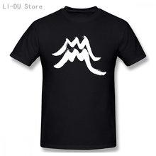 Aquarius zodiac sign logo arte masculina (mulher disponível) t camisa